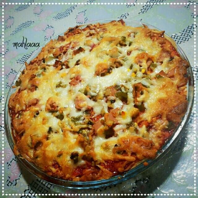 پیتزا با نان تست