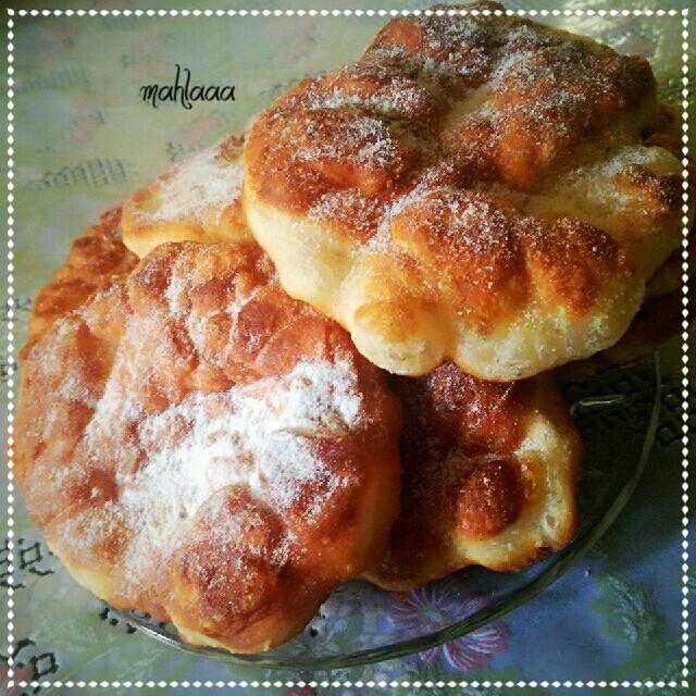 چلپک(نان روغنی ا�غانی)