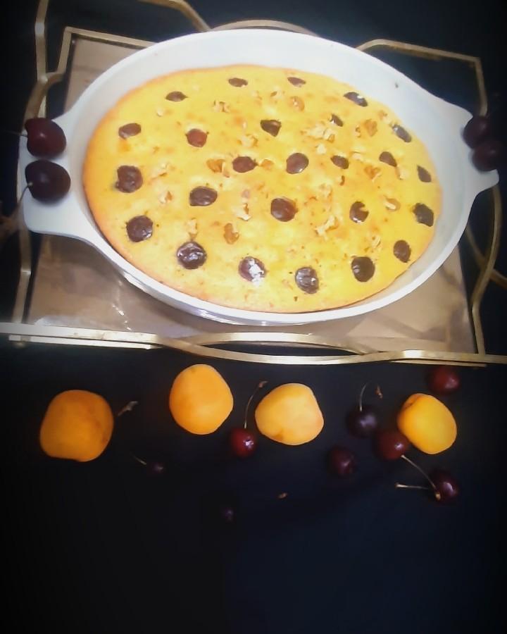 کیک میوه ایی