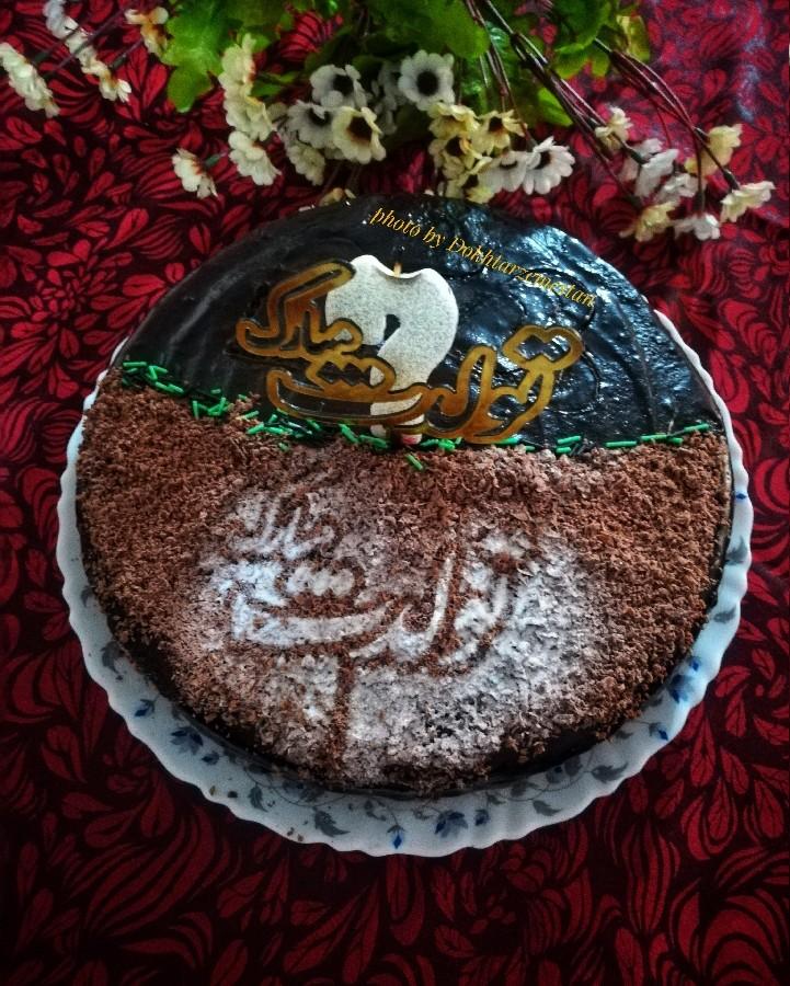 کیک تولد آقای خونه❤