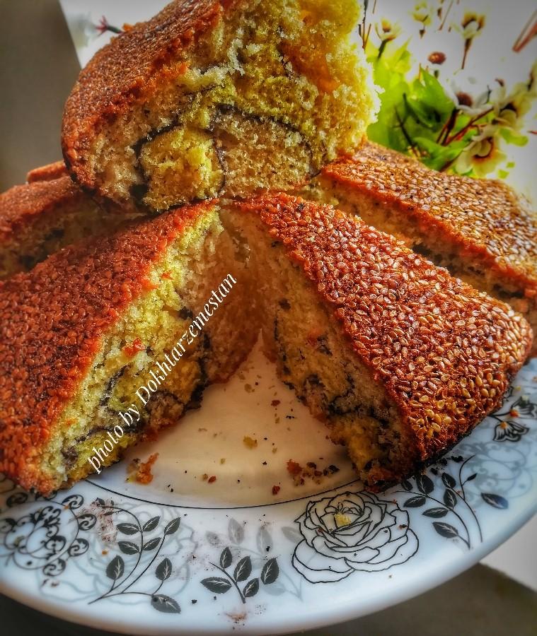 کیک زرافه ای