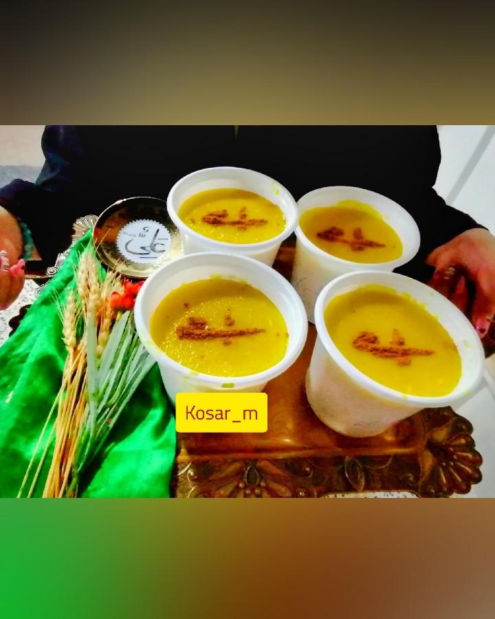 عکس اطعام غدیر(شله زرد)