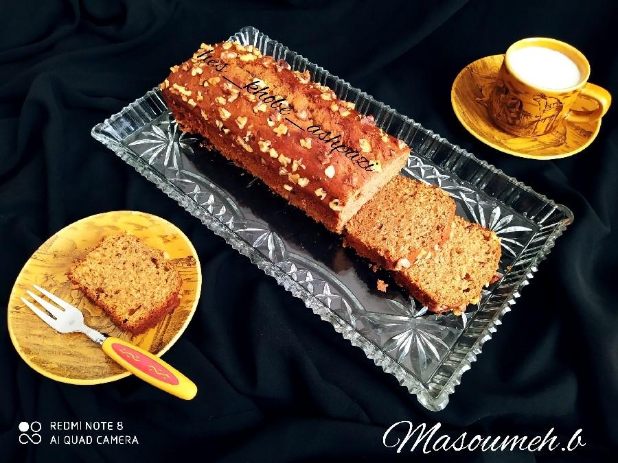 کیک موز و خرما