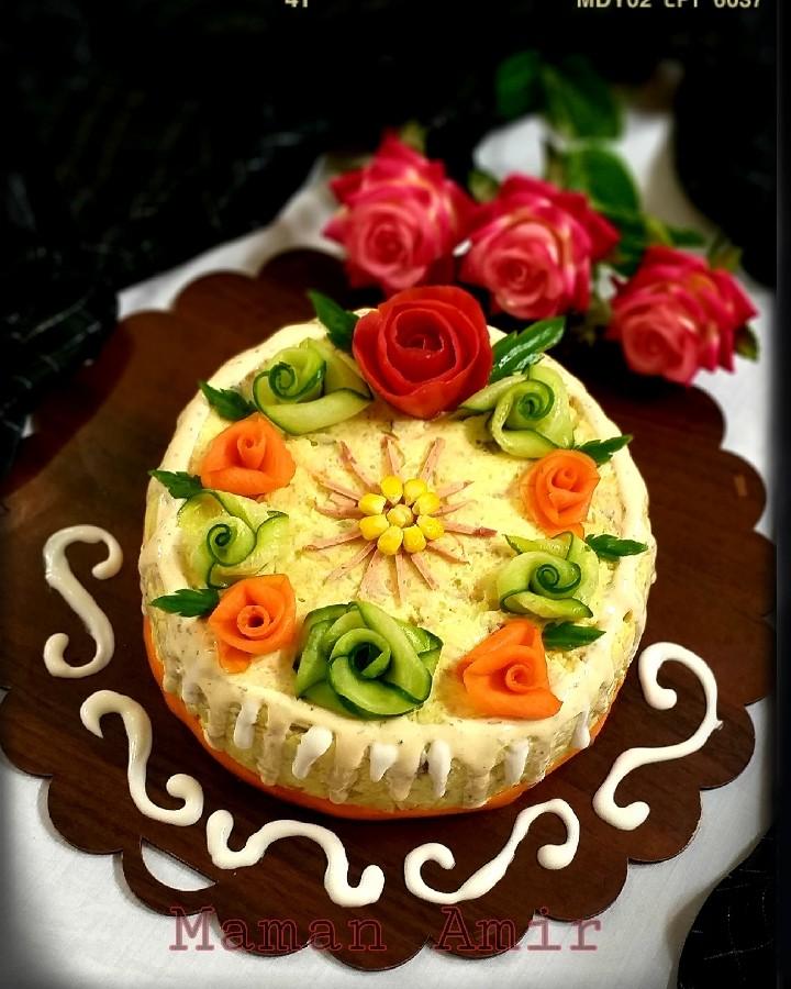 #کیک_الویه