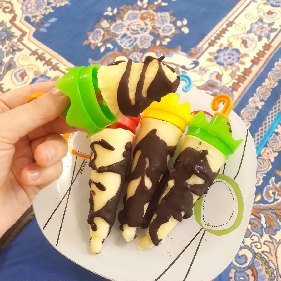 بستنی پودینگ وانیل