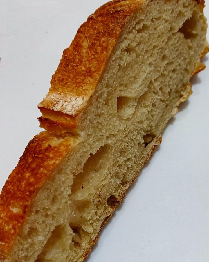 عکس نان سوخاری خمیر ترش  لطفاً کپشن خوانده شود