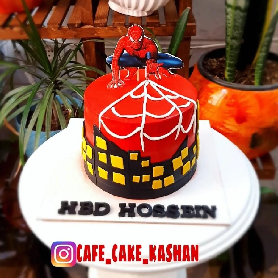 کیک مرد عنکبتونه