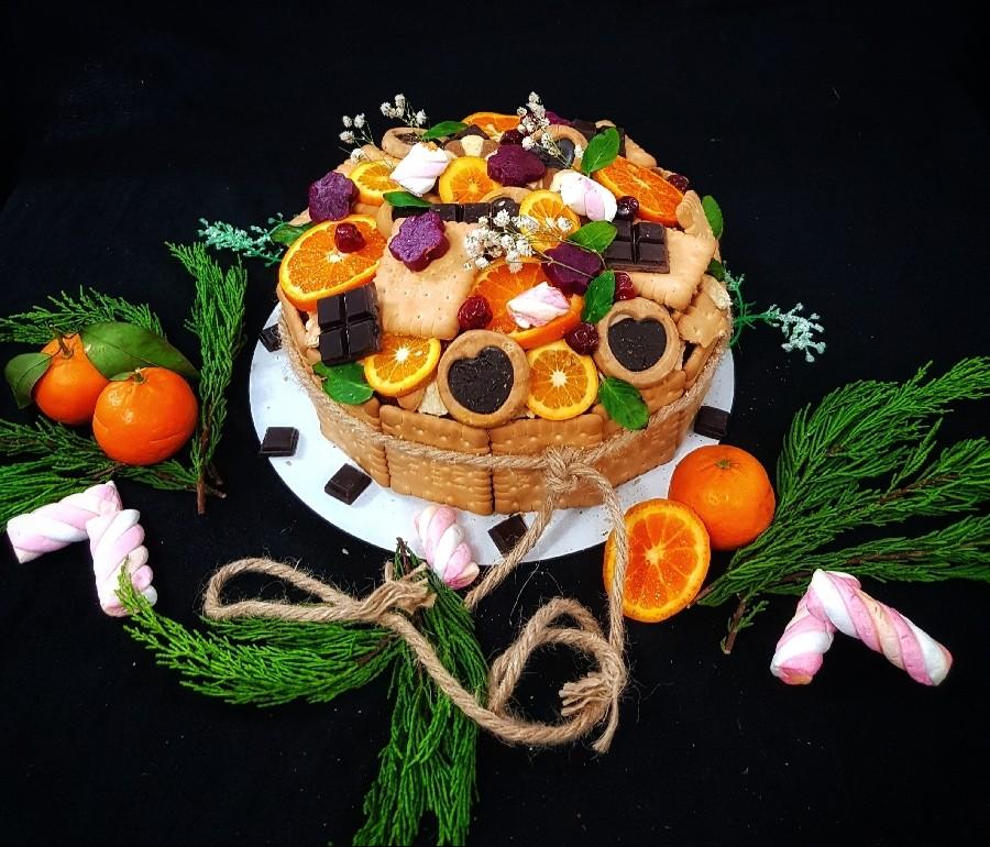 عکس کیک وانیلی