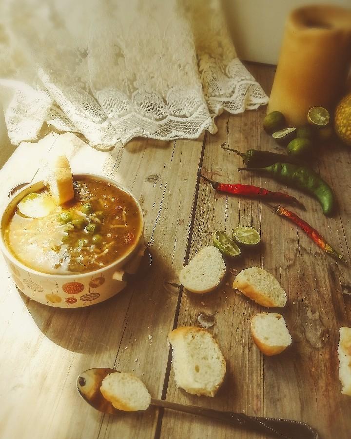 سوپ  لطفاً کپشن خوانده شود