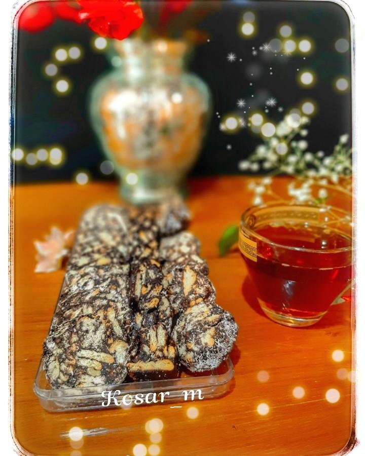 شیرینی شکلات آلمانی بدون فر ردای امامت مبارک آقا جان